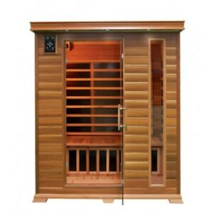 SALE HEMLOCK & CEDAR SAUNA INFERRED CARBON FIBER CANADIAN WOOD