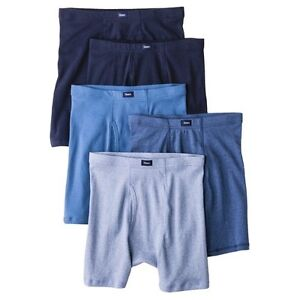 Hanes® Premium Men's 5pk Comfort Soft Waistband Boxer Briefs - Assorted Colors