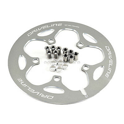 """Bicycle Road Crank Chain Guard 3-11//16/"""" Between Holes NOS"""