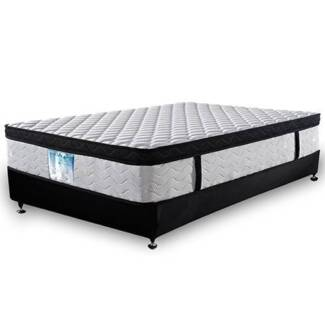 Latex Eurotop Roll Mattress Queen North Melbourne Melbourne City Preview