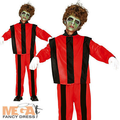 Zombie Thriller Singer Boys Fancy Dress Michael Jackson Kids Halloween Costume - Michael Jackson Zombie Kostüm