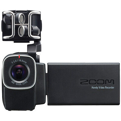 New Zoom Q8 Handy Audio and Video Recorder Auth Dealer Warranty Best