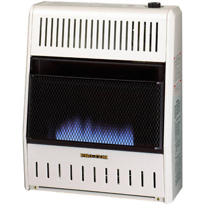 Dual Fuel Ventless Flame 20,000 BTU Natural Gas/Propane Wall Mounted Heater