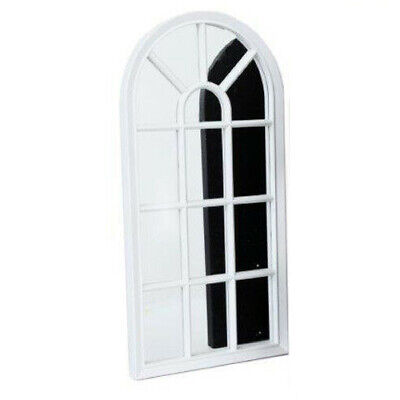 mirror - WINDOW STYLE MIRROR WHITE DECORATION 70CM HOME WALL MOUNTED VINTAGE GIFT ROOM