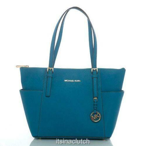 michael kors handbag turquoise ebay