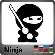 Ninja Aufkleber