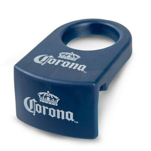 Set of 4 Coronarita bottle holder clips Blue