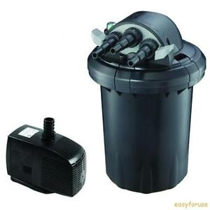 Uv pond filter ebay for Pond filter setup