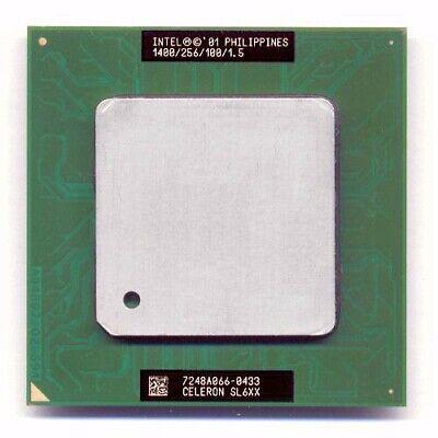 Intel Tualatin Celeron 1.4GHz(256K) include On-chip Socket Adapter!! SL6C6 SL64V