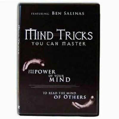 Mind Tricks You Can Master - Magic Tricks DVD - New