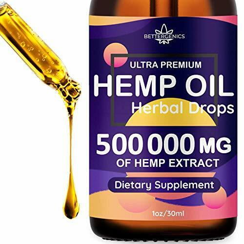 50000 mg Hemp Oil Drops, 100% Natural Ingredients,GMO Free, Made in USA