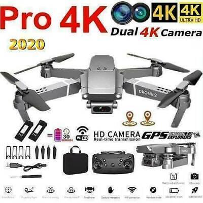 E68 Drone Hd Wide Angle 4k WiFi 1080p FPV Drone Video Live Recording Quadcopter