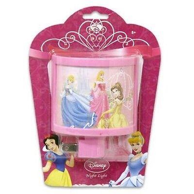 - Disney Princess Curved Night Light Nightlight Kids Bedroom Bathroom Home Decor