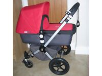Bugaboo 2ND Gen Cameleon Travel System Pram Pushchair and Carry Cot.Great Condition.Birth to 4 years