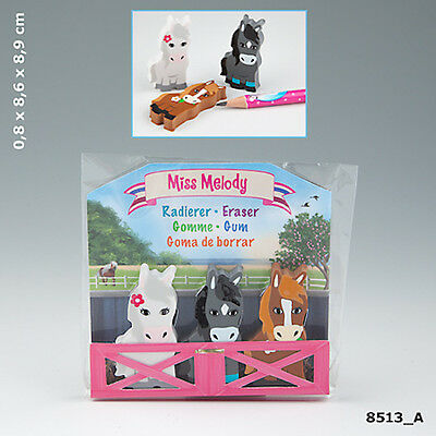 NEW MISS MELODY ERASER SET IN THE BARN