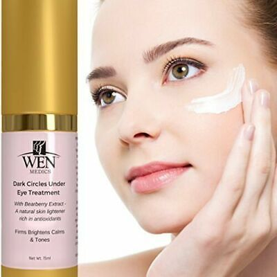 Best Dark Circle Under Eye Cream Treatment W. Bearberry Honey CoQ10 Anti Aging
