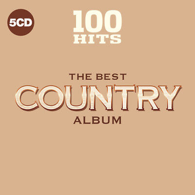 Various Artists - 100 Hits: The Best Country Album [New CD] Boxed Set, UK -