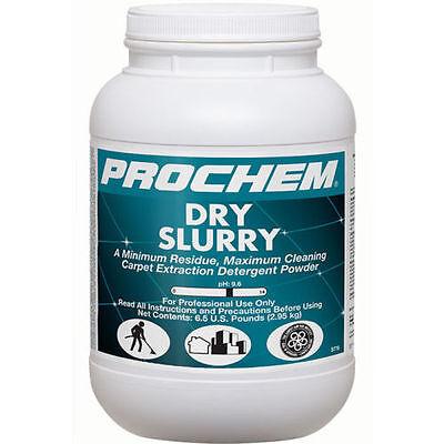 Prochem Dry Slurry - Carpet Extraction Detergent Powder 1 Case 4-6.5 Lb Jugs