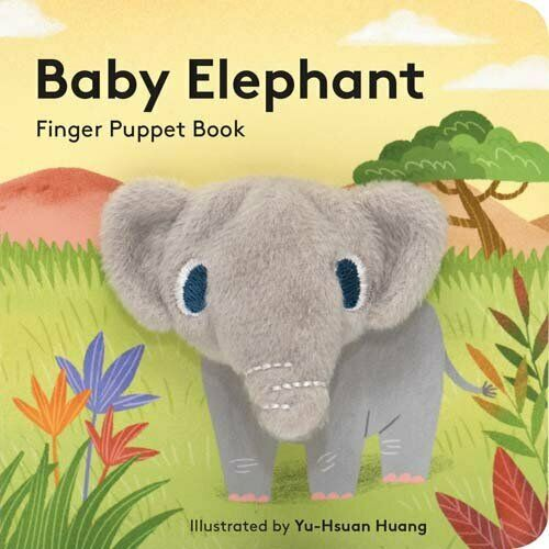 NEW - Baby Elephant: Finger Puppet Book: by Chronicle Books