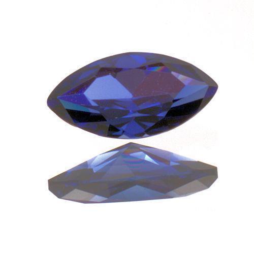 (6x3mm - 10x5mm) Marquis Lab Created Blue Sapphire