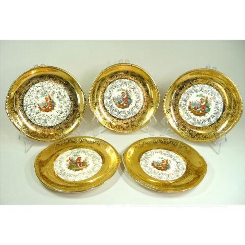 royal china 22 kt gold ebay. Black Bedroom Furniture Sets. Home Design Ideas