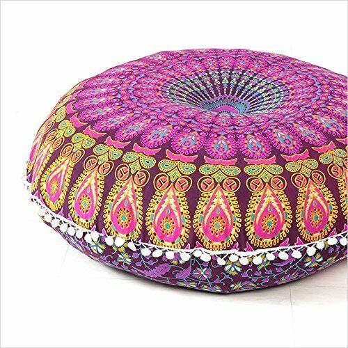 32 Large Cushion Floor Bohemian Round Mandala Cover Throw Ca