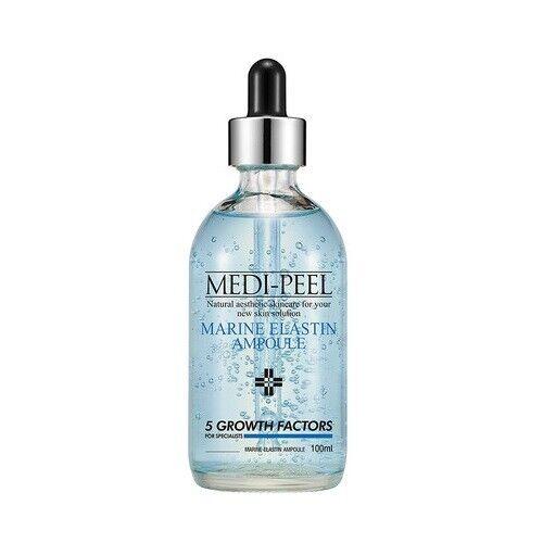 как выглядит Medi Peel Marine Elastin Ampoule 100ml Wrinkle Improvement K-Beauty фото