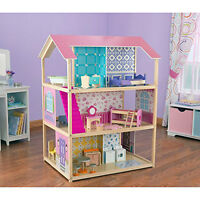 ADORABLE WOODEN PLAY AROUND DOLL HOUSE