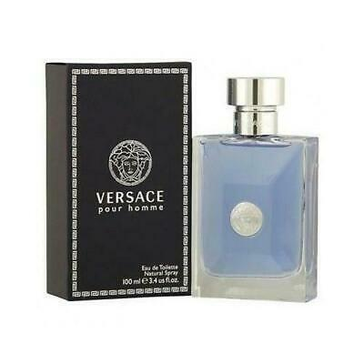 Versace Pour Homme Cologne Signature by Versace 3.4 oz EDT for Men New