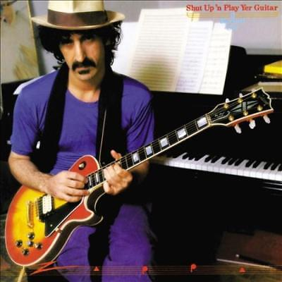 FRANK ZAPPA - SHUT UP 'N PLAY YER GUITAR NEW