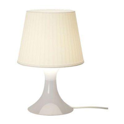 """IKEA Tischleuchte """"LAMPAN"""" Schreibtischlampe weichem Stimmungslicht 29 cm WEIß"""
