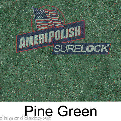 5 Gl. Pine Green Concrete Color Dye For Cement Stain Ameripolish Surelock Color