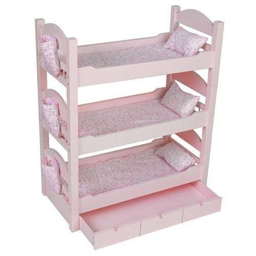 Bunk Bed Dolls: American Girl Triple Bunk Bed