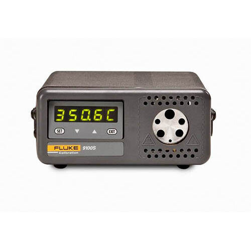 Fluke Calibration 9100S-B-156 Handheld Dry-Well Temperature Calibrator