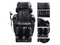Homcom Luxury Reclining Leather Massage Chair Automatic Zero Gravity Relax chair Multifunctional