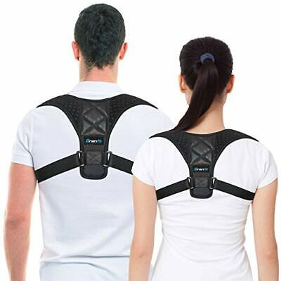 Best Posture Corrector & Back Support Brace for Women and Men by BRANFIT,