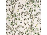 Luxury Designer Fabric by GP & J Baker 'Tree Peony' BATTERSEA COLLECTION