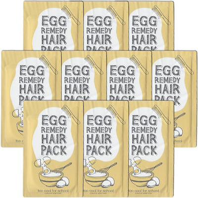 Too Cool for School Egg Remedy Hair Pack Samples 10pcs - dodoshop
