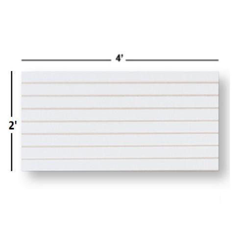 NEW Slatwall  Panels, Set of 4 PIECES, 2