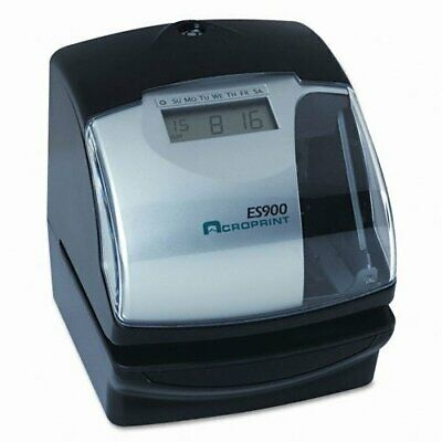 Acroprint Es900 Multi-function Side Printing Time Recorder - Card Punchstamp