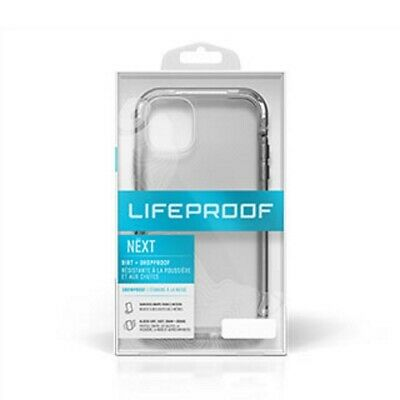 "LifeProof Next Series Cover Case for For iPhone 11 6.1"" (Crystal/Black) 77-62496"
