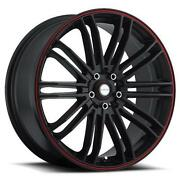 Black Red Rims