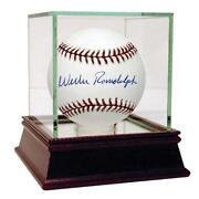 Willie Randolph Autographed Baseball