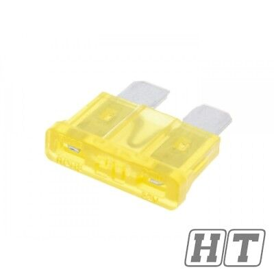FUSE FLAT FUSE 192MM 20A YELLOW FOR SCOOTER MOTORCYCLE