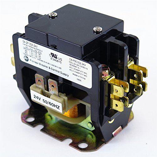 YuCo CN-PBC302-24 DEFINITE PURPOSE CONTACTOR 30A 2P 24V 30 FLA 40 RES FITS