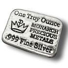 Monarch Precious Metals 0.999 Silver Bullion Bars & Rounds