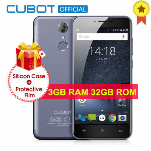 """Android Phone - 5.2"""" Cubot Note Plus HD 4G Mobile Smart Phone Android7.0 32GB Quad Core Dual SIM"""
