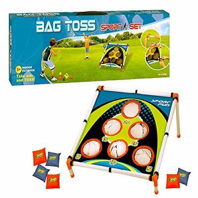 Kids Sports Carnival Games Bean Bag Toss Game Corn Hole Camp Outdoor - Kids Bean Bag Toss