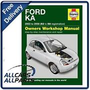 Ford Ka Haynes Manual