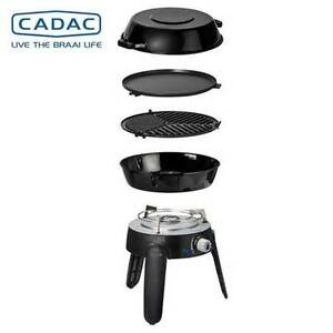 Caravan Gas Accessories - Cadac Safari Chef Deluxe 2 LP